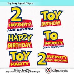 Toy Story clipart frame Toy silhouette Digital Pinterest