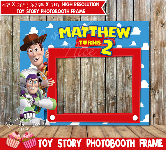 Toy Story clipart frame Toy Frame Birthday booth booth