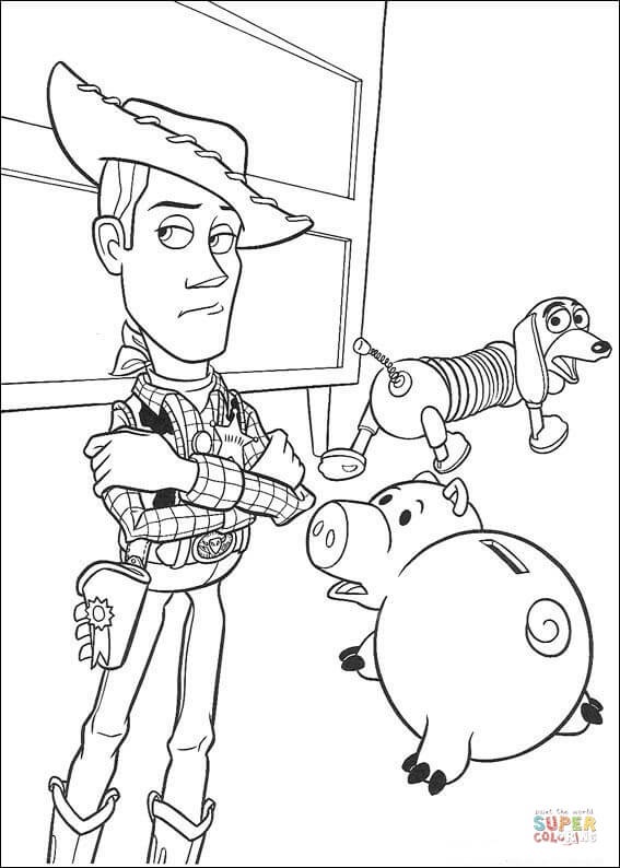 Toy Story clipart hamm Click And Hamm Woody page