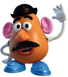 Potato clipart toy story character Mr Which