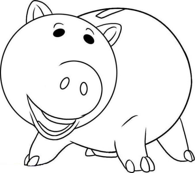 Toy Story clipart piggy Toy coloring piggy bank piggy