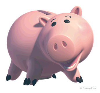 Toy Story clipart piggy Pig toy Blue From Pig