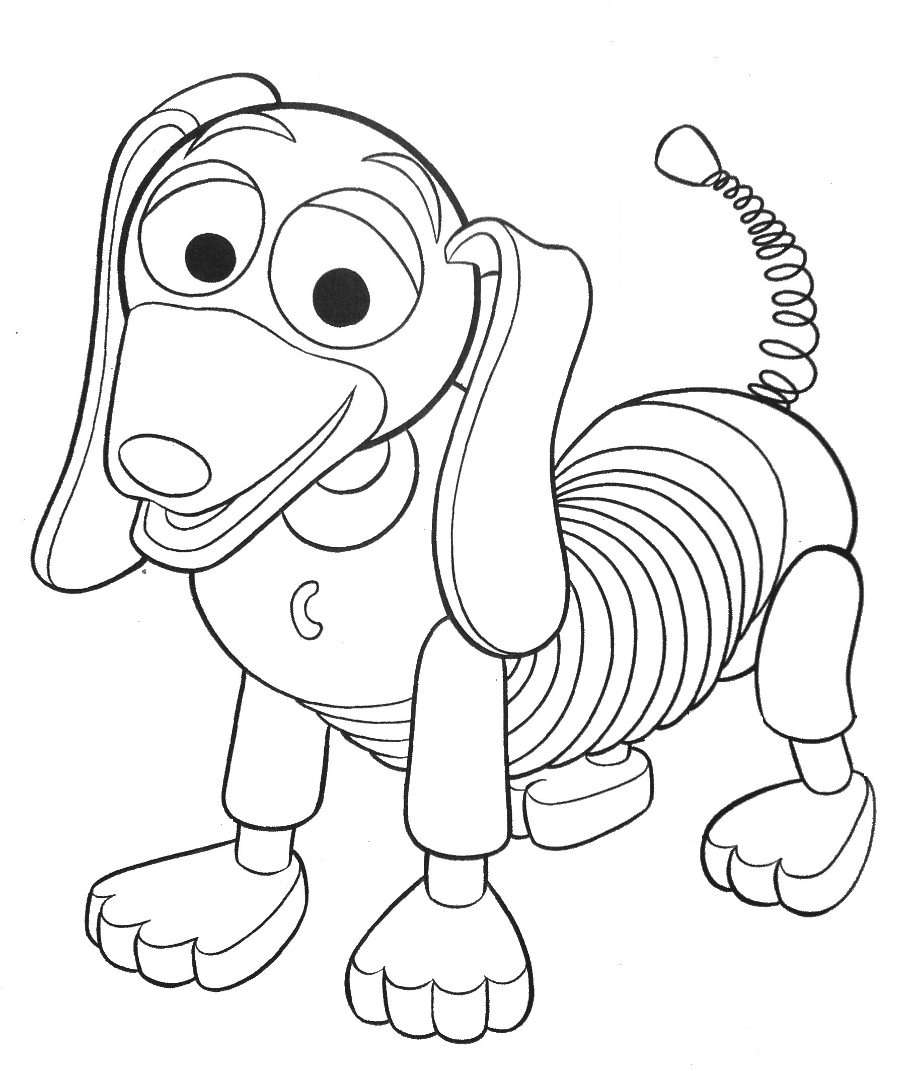 Toy Story clipart slinky Coloring Story toy Pages Toy