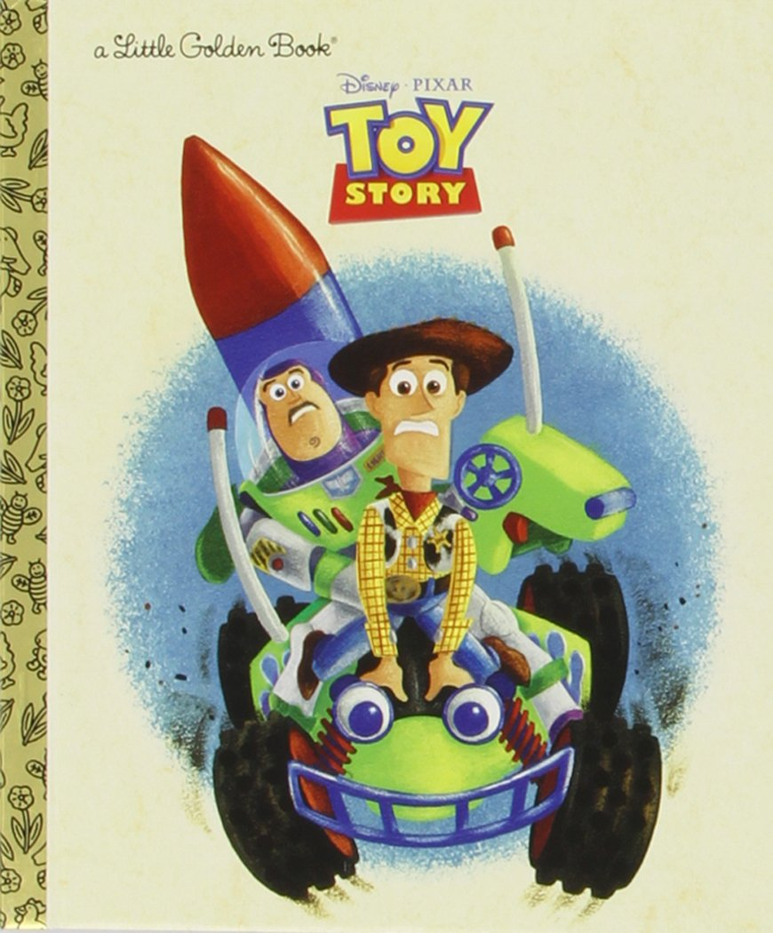Toy Story clipart storybook character Story Toy Golden RH Story)