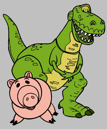 Toy Story clipart toy dinosaur Toy and Toys Hams on