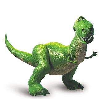Toy Story clipart toy dinosaur Series Toy Pixar Rex BeeMinor