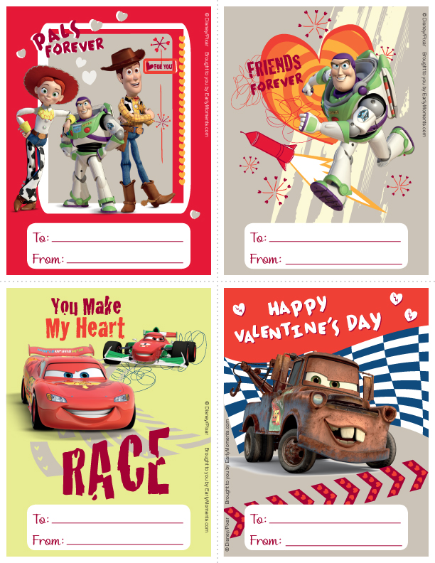 Toy Story clipart valentine Valentine's with last FREE Spread