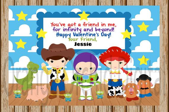Toy Story clipart valentine Valentine Valentine Toy INSTANT Classroom