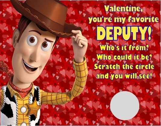 Toy Story clipart valentine Pinterest by Scratch Woody to