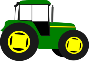 Tractor clipart #12