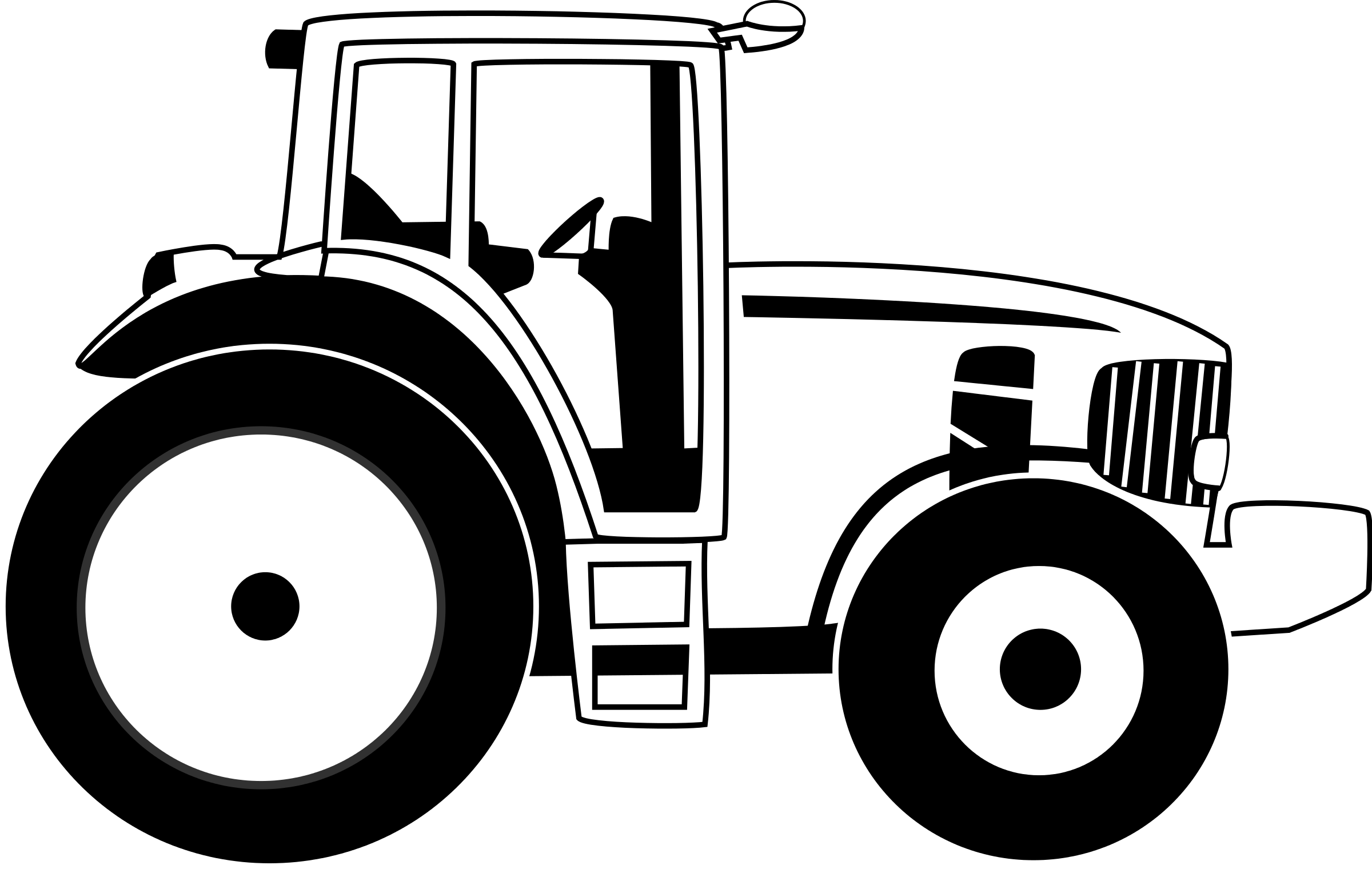Tractor clipart #15