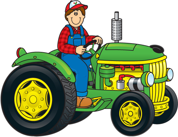 Tractor clipart Agriculture clipart clipart tractor com