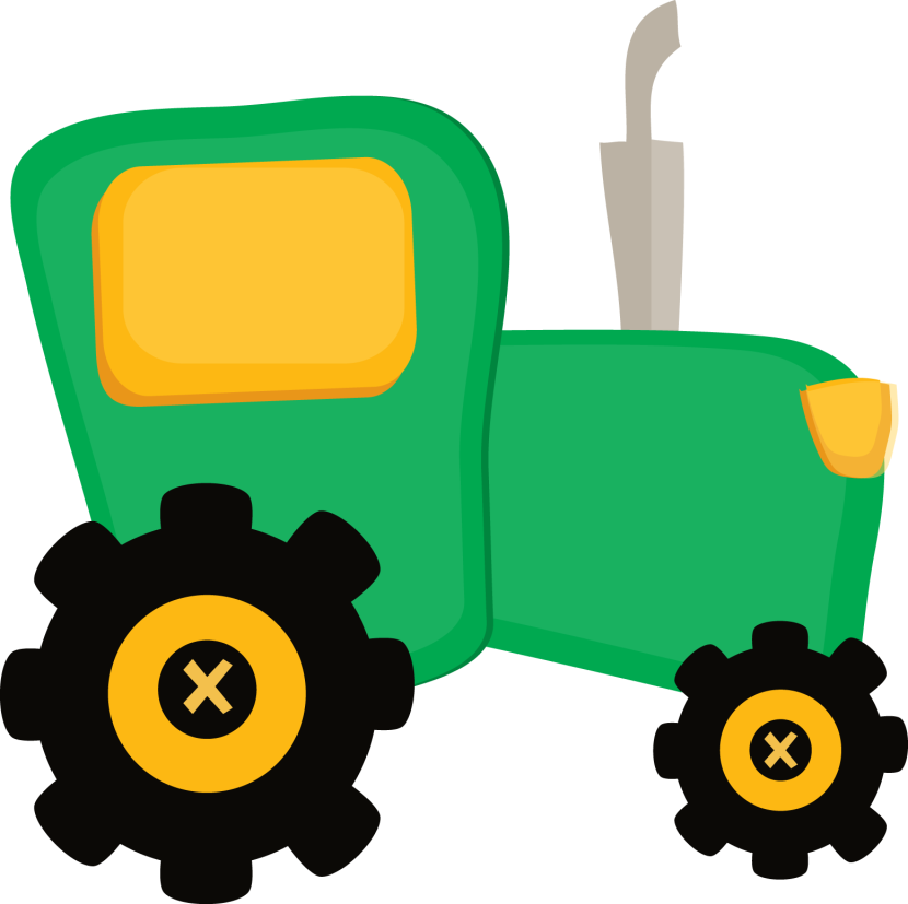 Tractor clipart 2 clipart John deere Cliparting