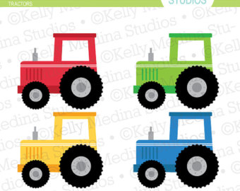 Tractor clipart child #3