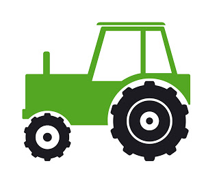 Tractor clipart little green #4