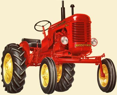 Tractor clipart massey #9