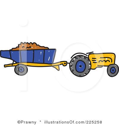 Tractor clipart plow #1