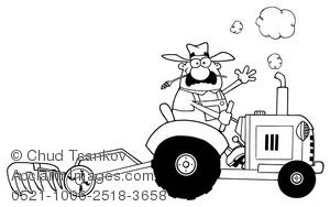 Tractor clipart plow #3