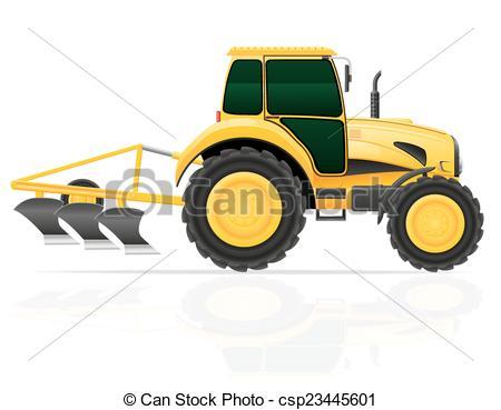 Tractor clipart plow #10