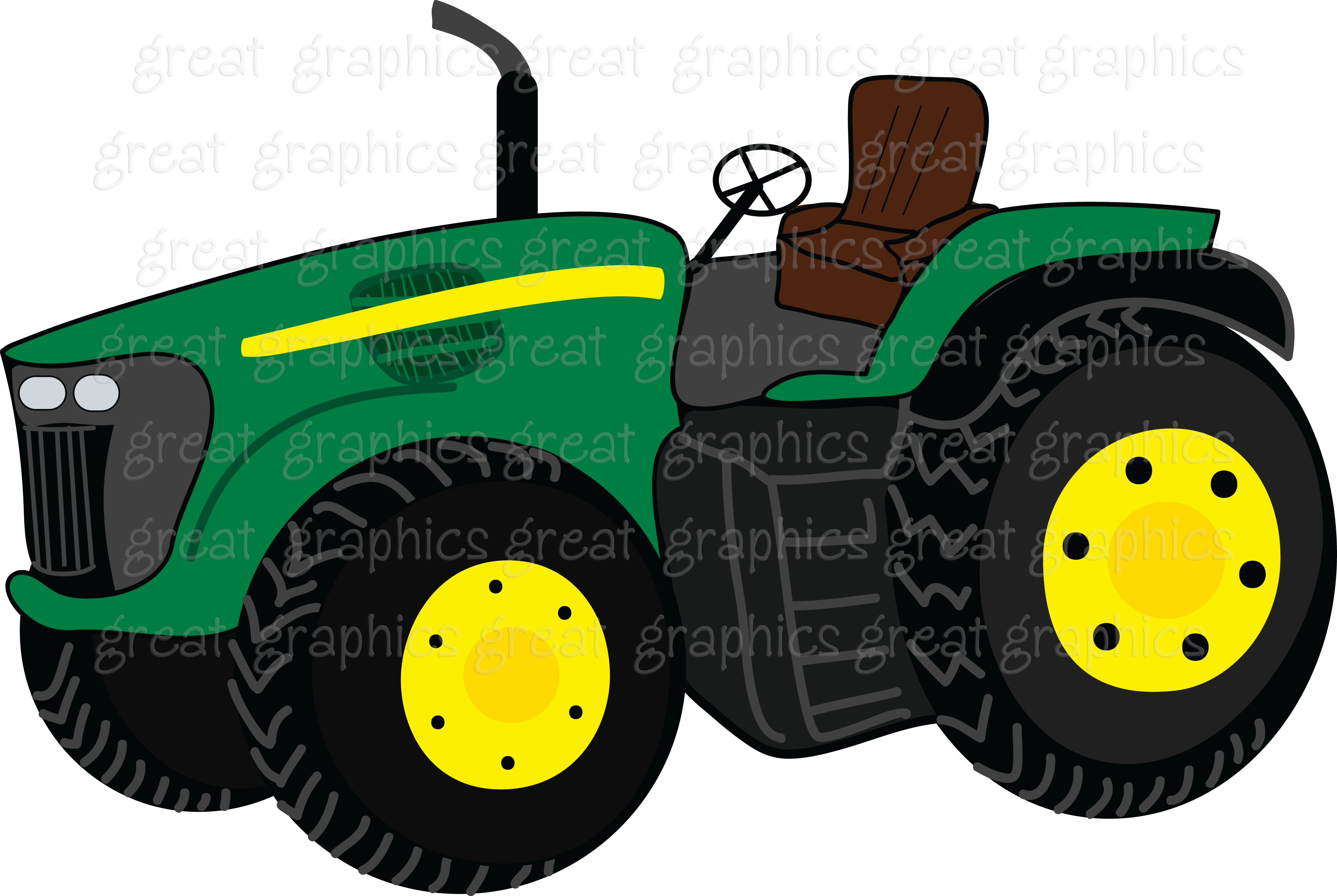 Tractor clipart transparent background #2