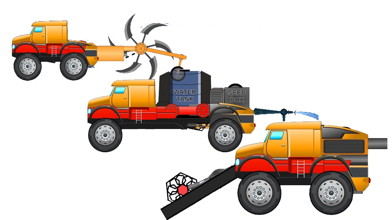 Tractor clipart water tanker #8