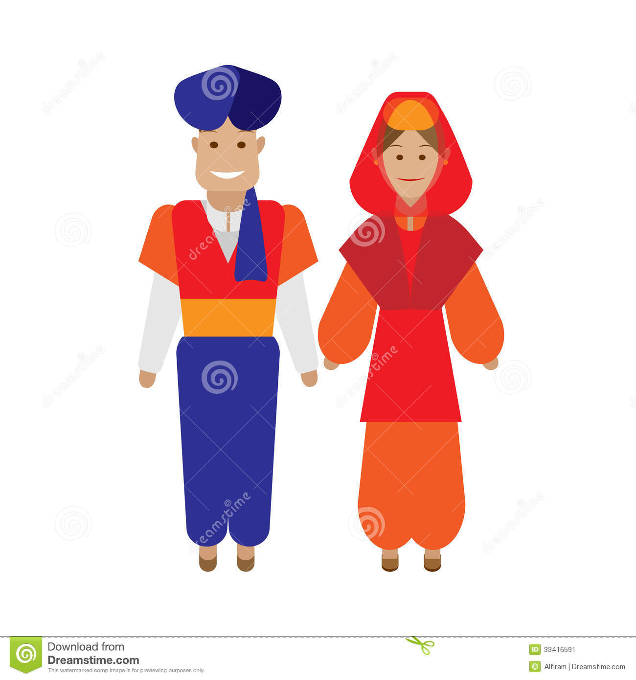 Traditional clipart indian mother Turkish Clipart Attire Download Traditional