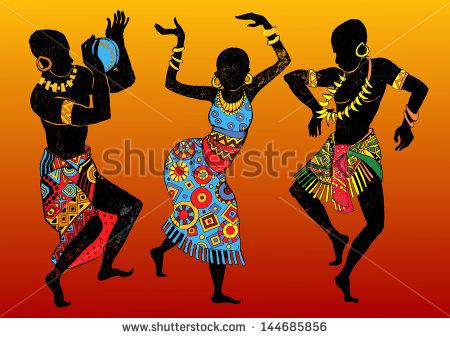 Africa clipart african dancing Vektorgrafiken Africa Clip wing tribal