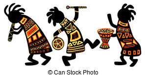 Country clipart african music African 290  illustration Stock