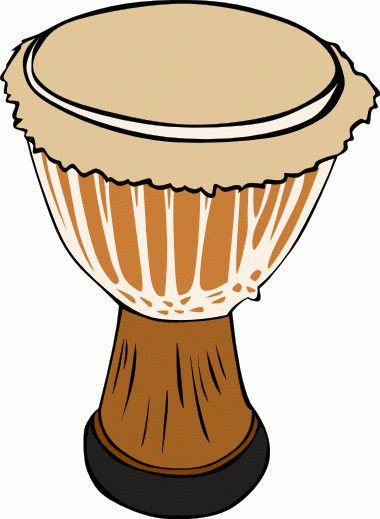 Country clipart african music Bay Drum Instruments African Clipart