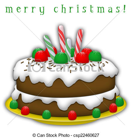 Traditional clipart christmas cake Chocolate cake white Cake 972