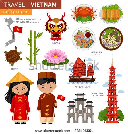 Asians clipart vietnam A cultural traditional  Vietnam