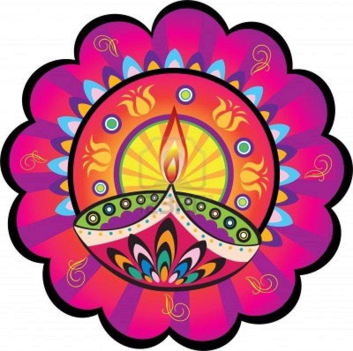 Traditional clipart diwali rangoli Mandana Diwali oil Diwali depicts