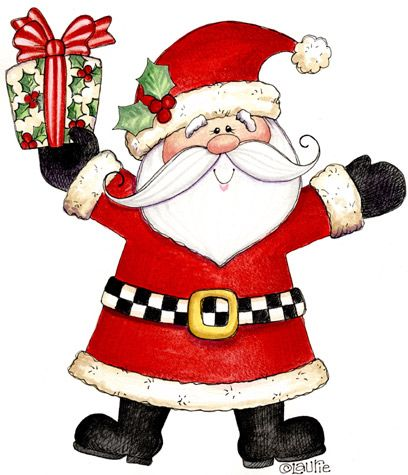 Country clipart santa On 474 printables/ca/cp3 Pinterest Christmas