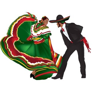 Traditional clipart mexican dancer Clip art Mexican dancers clipart