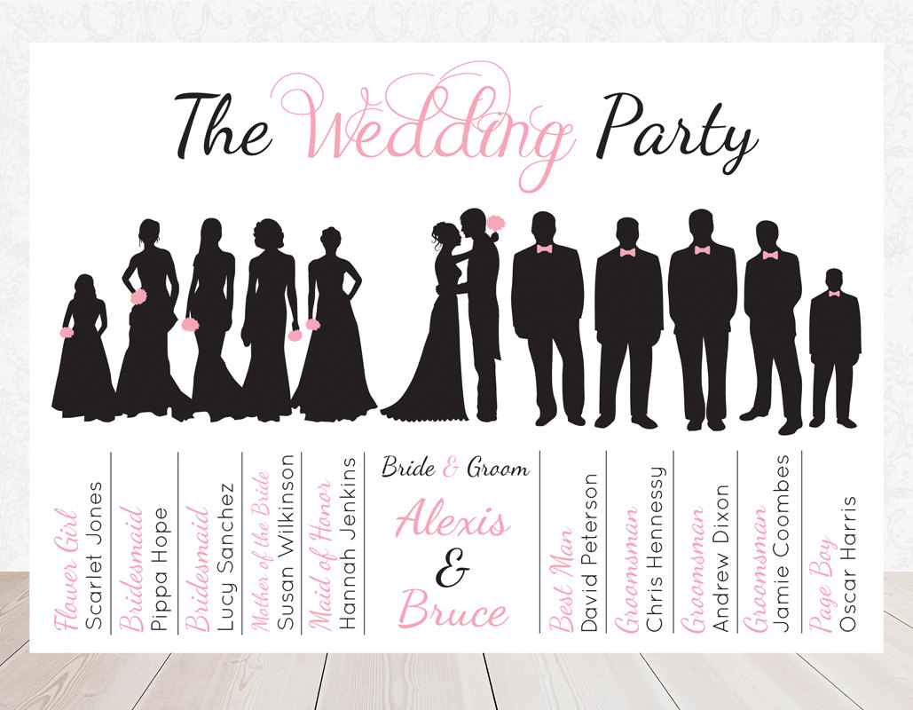 Suit clipart bridesmaid Free Wedding Silhouette clip Party