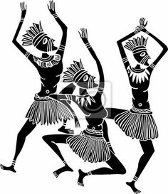 Traditional clipart west african dance Native Mural traditional Pinterest Dance