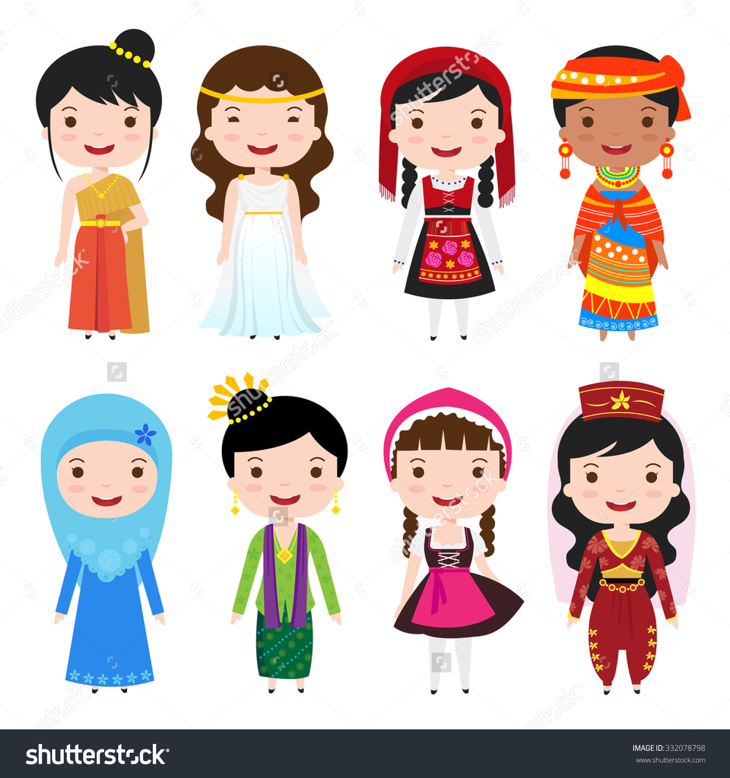 National Dress clipart #6
