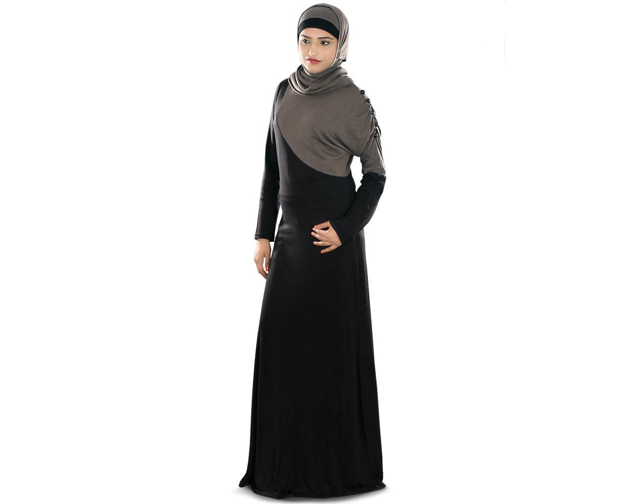 Traditional Costume clipart abaya Jersey Dress Maxi abaya Etsy