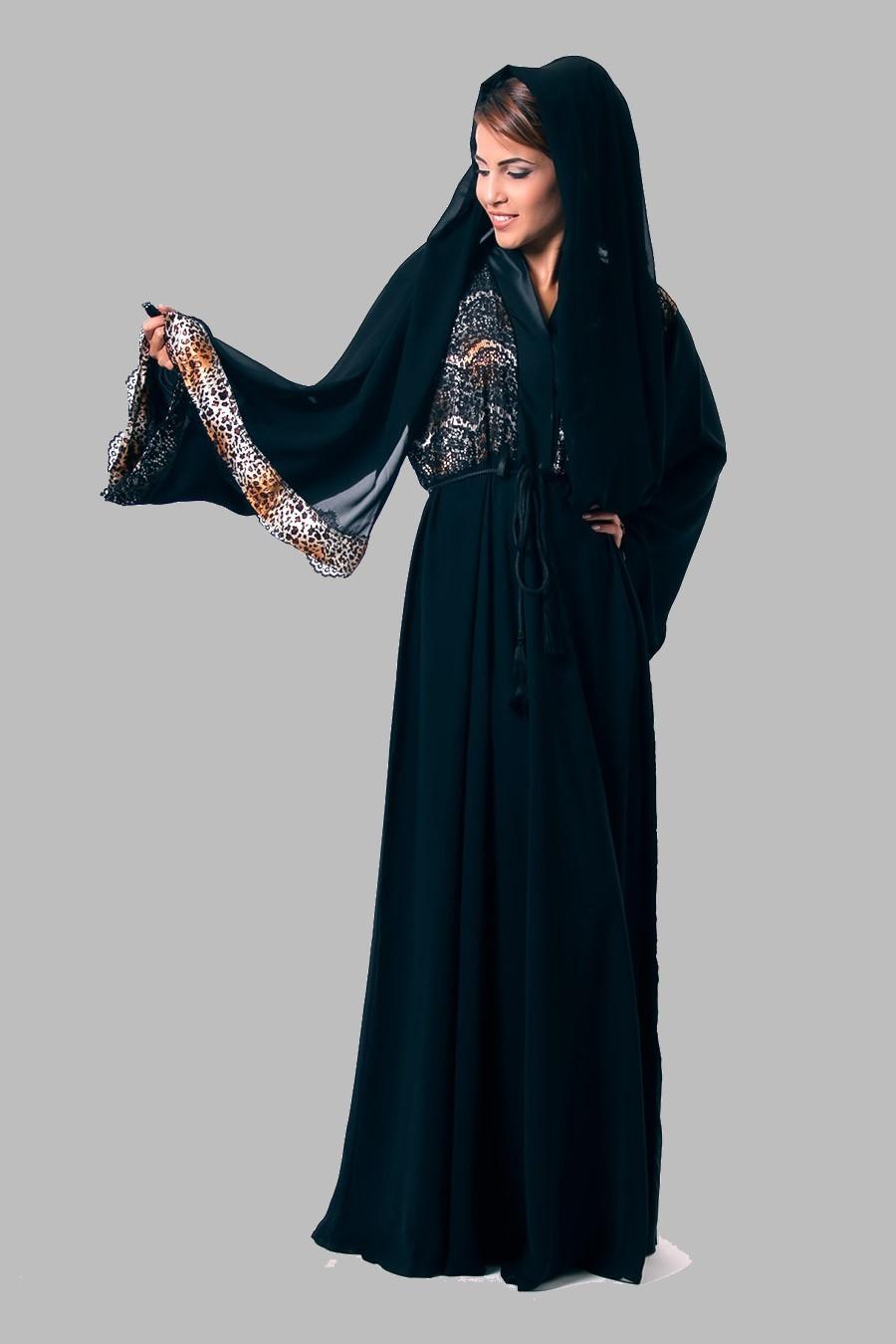 Traditional Costume clipart abaya UAE Traditional Women Dress Wear