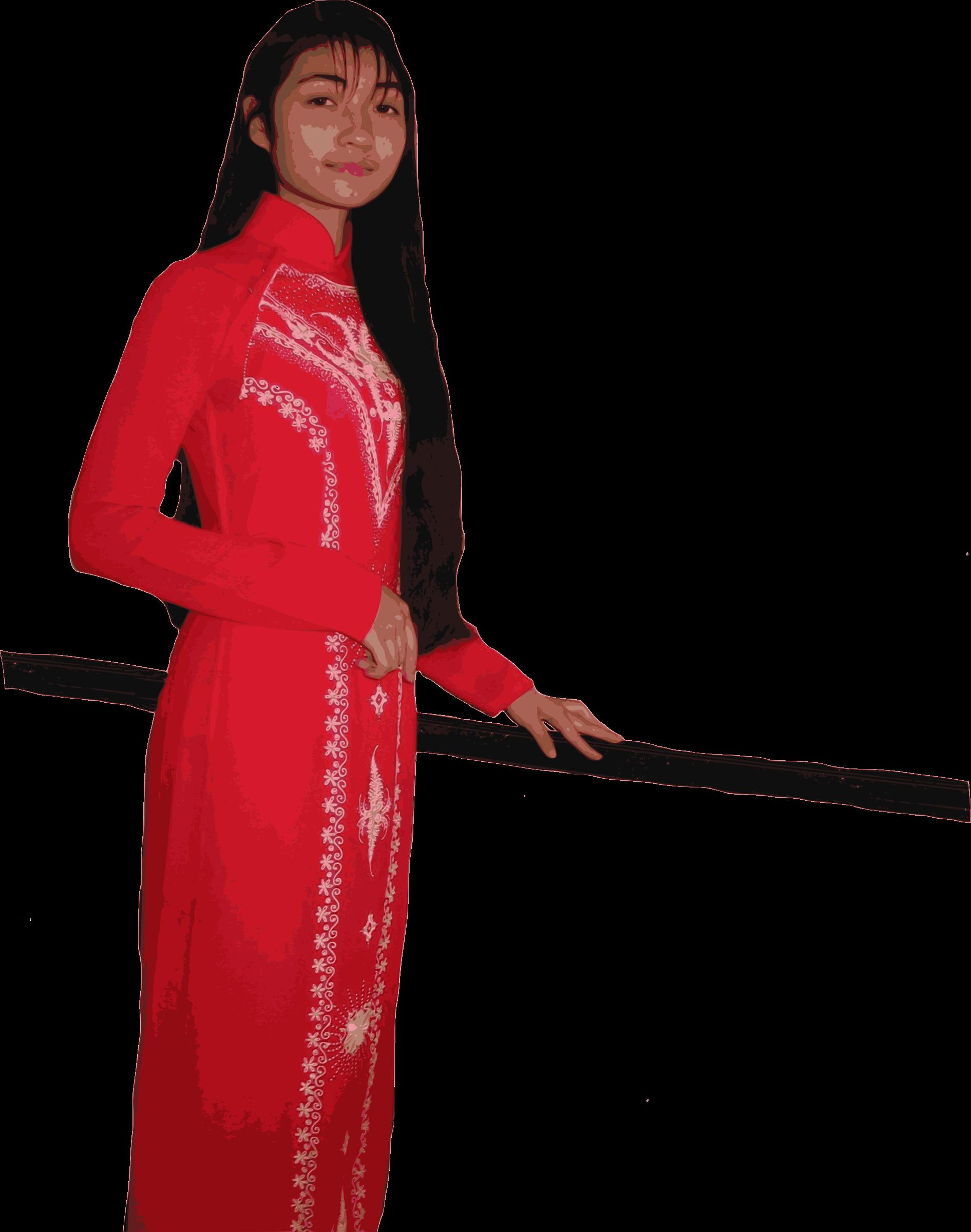 Vietnam clipart clothes Vietnamese Vietnamese Clipart Dai Ao