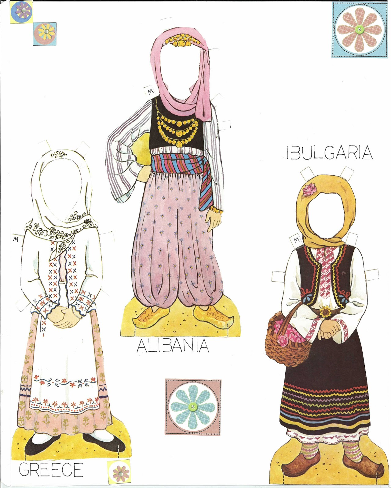 Traditional Costume clipart folk Traditional the Europe Folk of