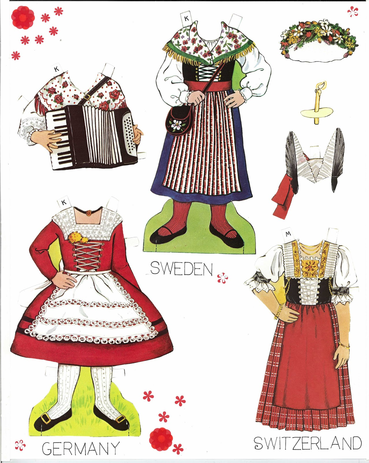 Traditional Costume clipart folk Traditional Sheets Traditional Costume Sheets
