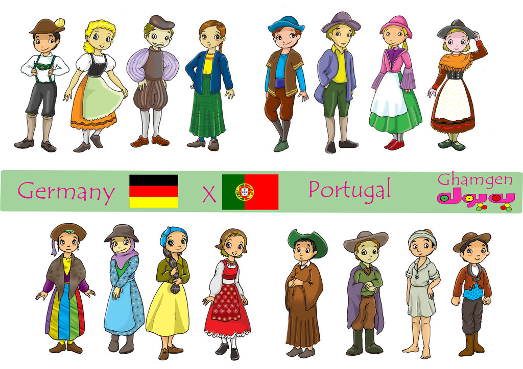 Traditional Costume clipart germany Clothes Traditional on Germany by