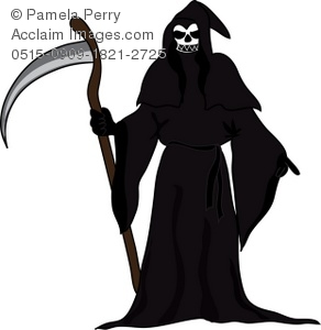 Reaper clipart grip Art With Illustration Face Face