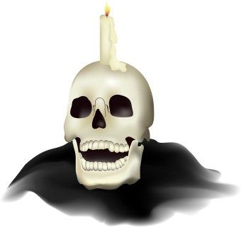 Traditional Costume clipart halloween skull A pictures Clip Halloween candle