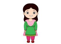 Pakistan clipart national dress pakistan #3