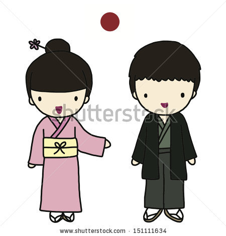 Reaper clipart traditional costume Japanese clipart Clothes drawings #3
