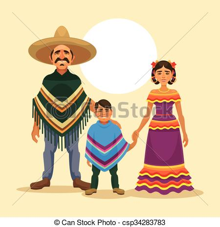 Traditional Costume clipart Illustration  Vector Boy