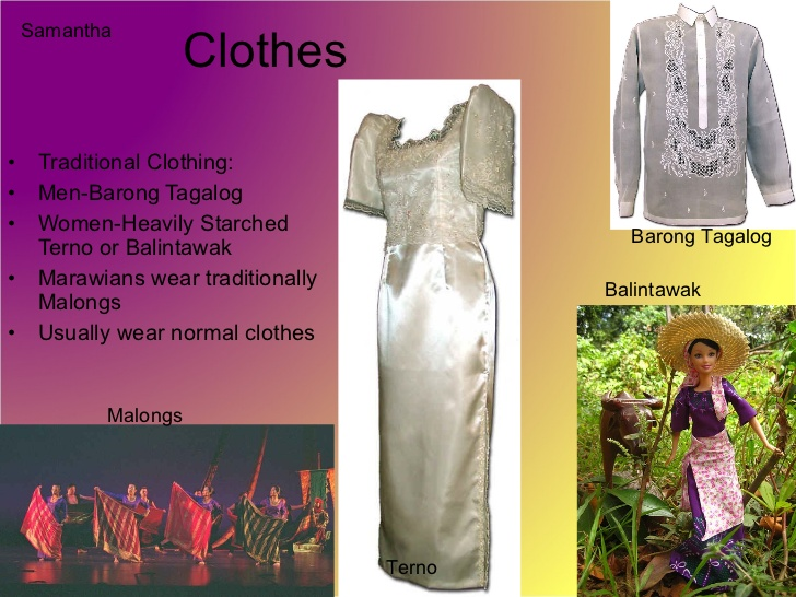 Phillipines clipart filipino culture Clothes Philippines and Culture Geography