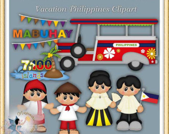 Bobook clipart filipino Philippines Philippines Clipart Etsy Vacation